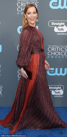 Critics' Choice Awards: The ladies lead the red carpet | Daily Mail Online