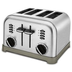 Cuisinart CPT-180 Metal Classic 4-Slice Toaster, Brushed Stainless *** This is an Amazon Affiliate link. Click on the image for additional details.