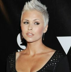 Omg.... if I wasn't fitty... I would rock this haircut!!
