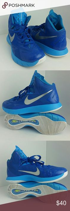 NIKE HYPERQUICKNESS MEN'S SHOES VERY CLEAN INSIDE-OUT   SKE ZM NIKE  Shoes Athletic Shoes