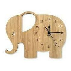 Nest Accessories original Wall Clocks are designed and made right here in Australia. Telling the time doesnt have to be boring. Add some style to your childs room with our cute Elephant Wall Clock and make learning the time fun! Wood Nursery, Clock For Kids, Bamboo Wall, Diy Clock, Clock Wall, Wood Clocks, Diy Furniture Projects, Wood Patterns, Wooden Walls