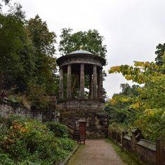 St Bernard's well was certainly an unexpected surprise during a wander the other day #edinburgh #scotland #stockbridge #well #monument #walk #hiddenedinburgh