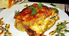Очень вкусная запеканка под сырной корочкой. Можно использовать замороженные цветную капусту и шпинат.