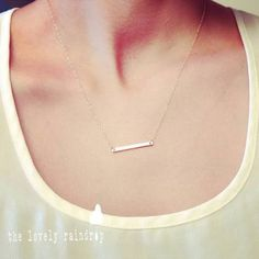 dainty necklaces - Google Search