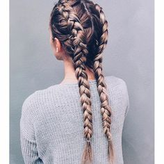pinterest @lilyosm | these braids look so cute in her hair | hairstyles hair braids french dutch cute ideas