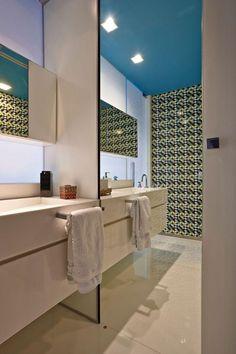 60 Banheiros Modernos Lindos e Elegantes - Fotos
