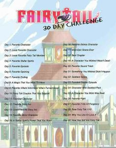 30 day challenge for...