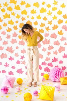Party Photography Kids Backdrop Ideas Ideas For 2019 Diy Ombre, Photography Kids, Party Kulissen, Party Ideas, Diy Photo Backdrop, Backdrop Ideas, Backdrops For Parties, Fall Diy, Autumn Inspiration