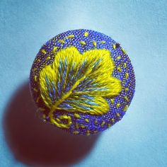 Margaret Dier Embroidery: Brooches