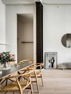 INSPIRATION: a contemporary dining setting | est living