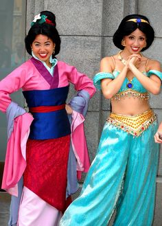 Mulan & Jasmine