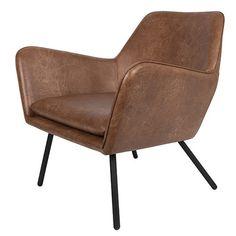 Lounge Chair Bon is een lekkere luie stoel bekleed met hoge kwaliteit PU-leer. Groot voordeel van deze bekleding is dat het net zo mooi is als een leren fauteuil, alleen niet zo kwetsbaar en gemakkelijker in gebruik. Materiaal: PU-leer 20% PVC, 16% polyester. Afmetingen: 76x80x78 Maximaal draaggewicht: 120 kg