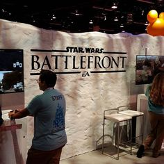 Join us at D23 at the Disney Interactive area and go hands-on with #StarWarsBattlefront. Also stay tuned for news on Sunday! #D23 by eastarwars
