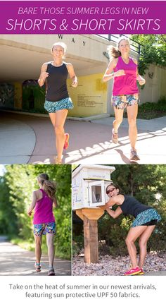 I personally LOVE the Go Longer shorts! They are the perfect length for someone that appreciates a little more coverage - and they are super lightweight...you barely even know they are on. And who can resist the Lioness? It is so SASSY!! Both are in stock in new, fresh fall patterns!!! Scoop them up while you can - they will go fast! #REALwomenmove #skirtsports #converttoskirt @skirtsports www.skirtsports.com
