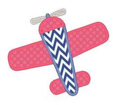 All Designs :: 2015 Designs :: Plane Applique