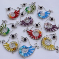 wire birds! Would make a cute mobile: