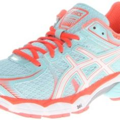 ASICS Women's GEL-Flux Running Shoe,Glacier/White/Hot Coral,10 M US