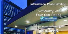 International Peace Institute Promoting the prevention and settlement of conflict