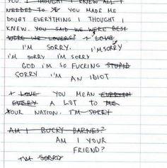 Bucky's Note.