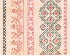 Finno-Ugric Embroidery pattern
