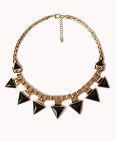 Triangle Fringe Necklace  Get 4% cash back and free shipping over $50 http://www.studentrate.com/all/get-all-student-deals/Forever21-Student-Discounts--/0