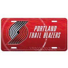 Portland Trail Blazers Street Flair Plate