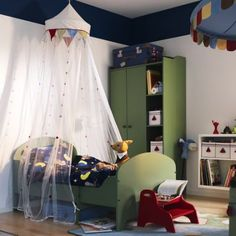 Ikea Expedit, Habitaciones infantiles