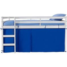 Kendall Mid Sleeper White with Blue Tent