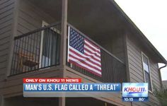 Man Told to Remove American Flag Because 'It's a Threat to Muslims' - Patriot Update  WTF???!!