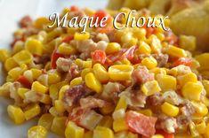 Corn Maque Choux - a traditional Louisiana side dish