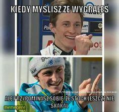 Wtf Funny, Hilarious, Polish Memes, Ski Jumping, Chocker, The Vamps, Creepypasta, Jumpers, Skiing