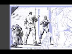Drawing tutorials from comic artist, David Finch. Everything from dynamic heroes, to intricate backgrounds, storytelling, and common problems new artists fac. David Finch, Comic Artist, New Artists, Storytelling, It Is Finished, Pencil, Comics, Drawings, Illustration