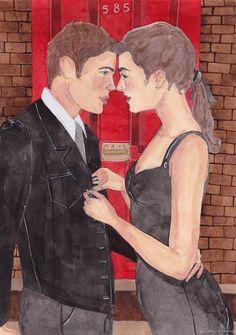 Art by Caitlin Shearer: Red Door