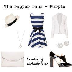 The Dapper Dans - Purple