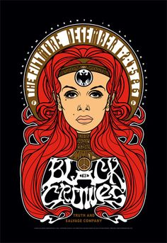 The Black Crowes New Fillmore Poster F1033