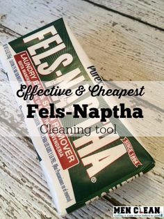 I love Fels-Naptha soap, it's been around for years and it is all natural.I use it to make homemade laundry detergent