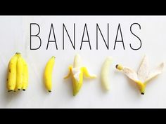Bananas : Polymer Clay Fruit Tutorial : Miniature DIY - YouTube