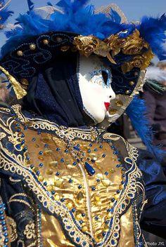 Máscaras de Carnaval de Venecia 2011. Lacy Jean-Yves Jean-Yves