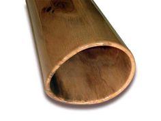 Woodslide Didgeridoo - (Detailansicht / Bell-end) Esche