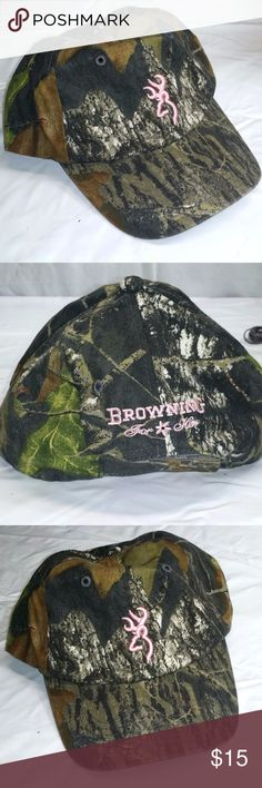 Browning For Her Camo Baseball Cap 79c3ae4c2a6