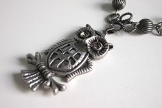 Owl+Necklace++Long+Owl+Necklace++Vintage+Inspired+by+BirdieAndDot,+$18.00