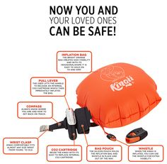 Kingii, A Compact Inflatable Worn on the Wrist to Provide Safety in the Water