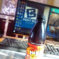 When we are looking for that boost to push a bit further.  #boomrenergydrink #printbigja