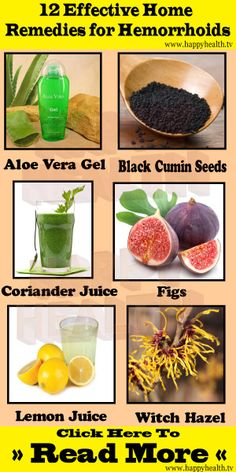 12 Effective Home Remedies for Hemorrhoids. Hemorrhoids, also known as piles, are swollen veins located around the anus or in the lower rectum. They are usually caused by increased pressure due to pregnancy, being overweight, or straining during bowel mov Natural Health Remedies, Natural Cures, Natural Healing, Herbal Remedies, Home Remedies For Hemorrhoids, Hemorrhoid Relief, Getting Rid Of Hemorrhoids, Salud Natural, Herbs