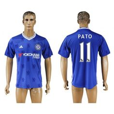Chelsea 16-17 #Pato 11 Hjemmebanetrøje Kort ærmer,208,58KR,shirtshopservice@gmail.com