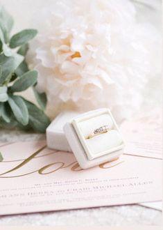 Velvet Ring Box | Engagement Ring Box