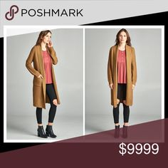 🍂COMING SOON🍂 CAMEL COAT CARDIGAN PLEASE LIKE THIS LISTING TO BE NOTIFIED WHEN AVAILABLE😀 Sweaters Cardigans