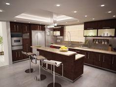 Kitchen design for Mancera Residence in Tijuana