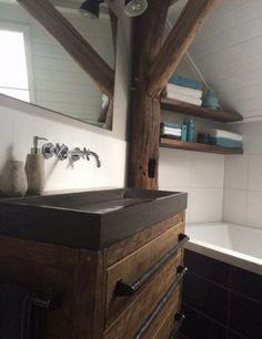 Old # oak # bathroom furniture # washbasin # # # # bathroom furniture # # bathroom furniture # # bathroom # - Moderne Inneneinrichtung Oak Bathroom Furniture, Modern Bathroom Cabinets, Bathroom Vanity Designs, Rustic Bathroom Vanities, White Vanity Bathroom, Bathroom Interior, Charcoal Bathroom, Small Double Sink Vanity, Small Bathroom Redo