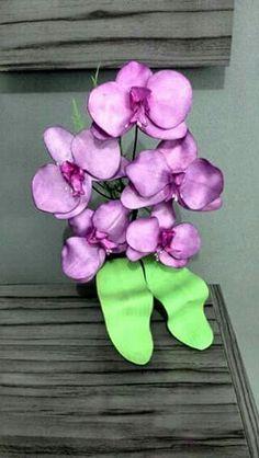 Orquídeas em eva...